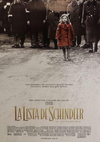 Póster La lista de Schlinder