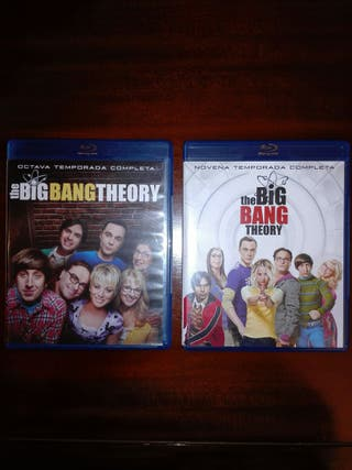 The Big Bang Theory Temporadas 8 y 9 Blu-ray