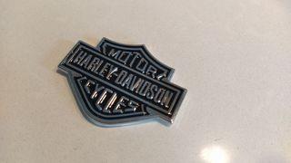 Emblema metálico Harley Davidson
