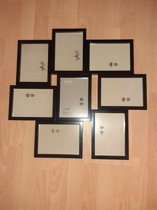 decorar marco de fotos de ikea vaxbo