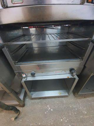 deja Wasap tostador industrial de pan con mueble