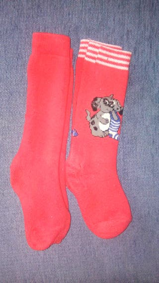 2 pares de calcetines gordos de nieve