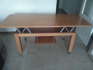 mesa centro de madera