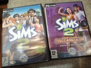 Los Sims 2 y expansion Sims 2