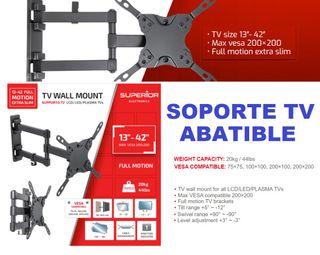 Soporte TV 13-42 Full Motion Extra Slim