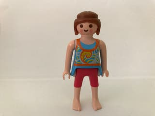 Playmobil figura chica camping