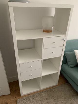 Mueble Ikea blancos de segunda mano en Madrid en WALLAPOP