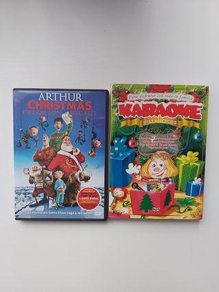 Pack Navidad 1 pelicula DVD+ 1 DVD Karaoke