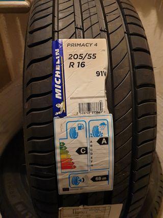 Neumáticos Michelín Primacy 4 nuevos