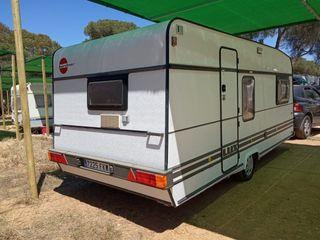 vendo caravana burstner delux año 98