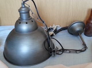 Foco, lámpara de techo. Vintage.