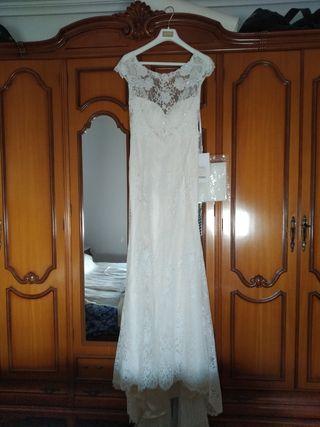Vestido De Novia Talla Grande De Segunda Mano En La Provincia De Alicante En Wallapop