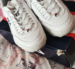 Zapatillas fila 37