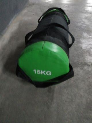 saco de entrenamiento 15kg