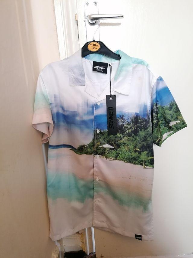 sonneti Hawaiian shirt