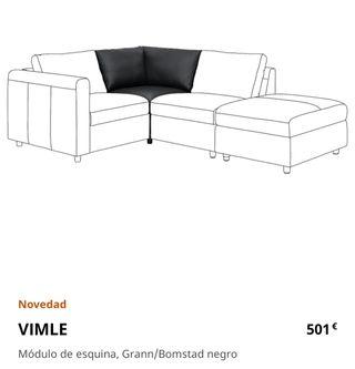 VIMLE IKEA Sofá módulo esquina