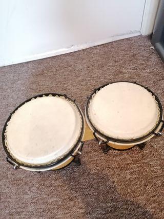 wooden drums