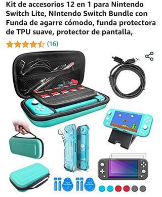 Kit completo 12 en 1 Nintendo Switch NUEVO