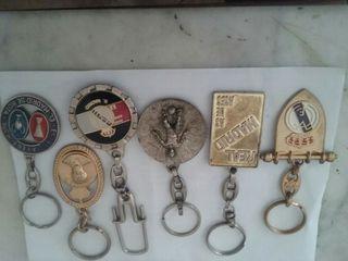 colección de llaveros Real Madrid
