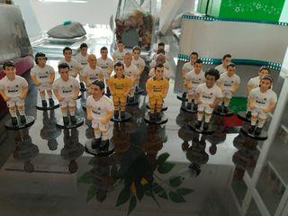 figuritas jugadores del Real Madrid