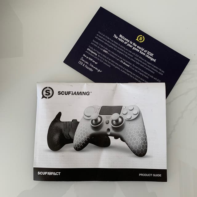 SCUF GAMING IMPACT *KNIGHTS OF SCUF* WITH EMR