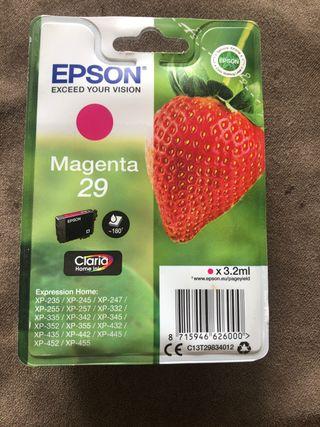 Cartucho impresora magenta 29 epson XP