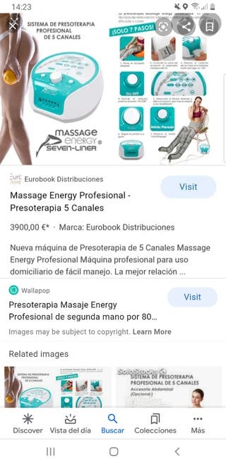 PRESOTERAPIA ENERGY