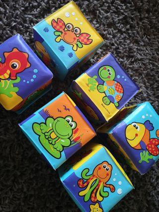 juguete bloques blanditos para apilar