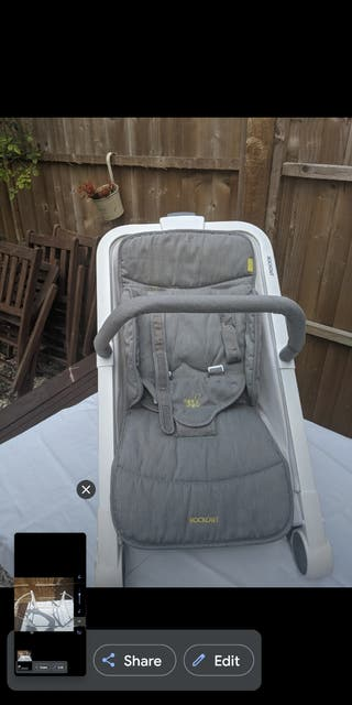 rocking baby bouncer