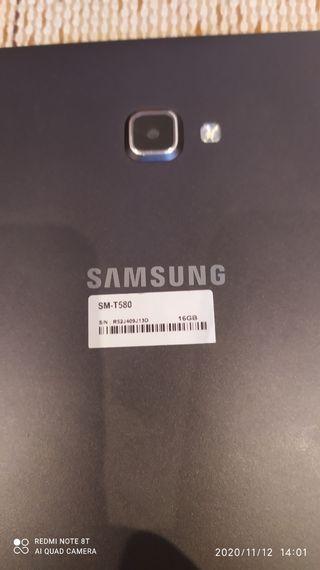 Samsung Galaxy Tab A6 Negra 10.1 SM-T580