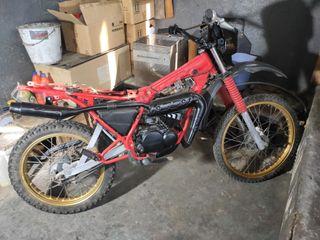 Despiece Yamaha DT 80