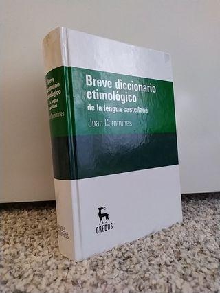 Breve diccionario etimológico