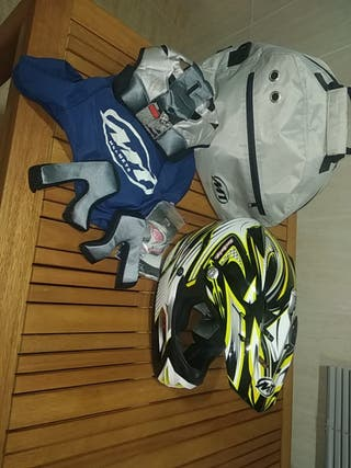 Casco MT de motocross