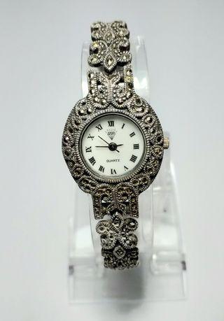 reloj DIAMOND plata 925 .antiguo