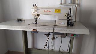 Máquina doble arrastre semiindustrial