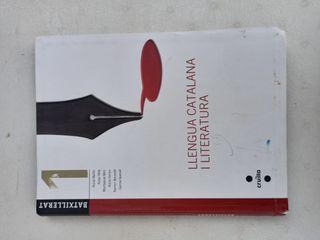 Libro de catalán y literatura