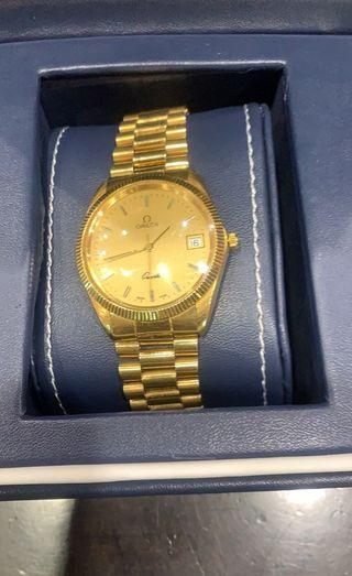 reloj omega oro 18 quilates