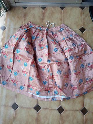 Falda de traje regional