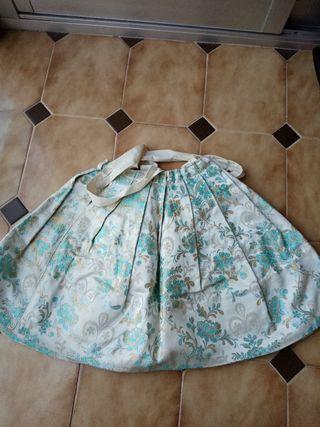 Falda de traje regional infantil