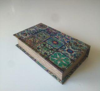 """Caja Libro Joyero """"Silky"""" NUEVO"""