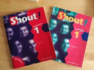 Libros de inglés Shout! Oxford University - 3º ESO