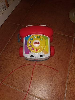 juguete de arrastre teléfono fisher place