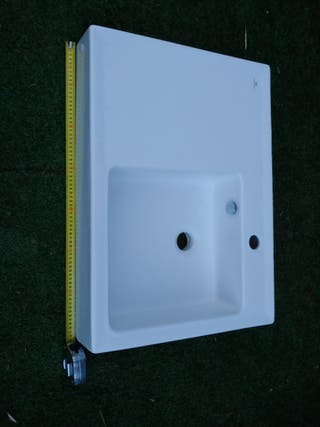 lavabo rectangular Porcelanosa