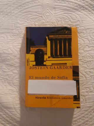 """Libro: """"El mundo de Sofía"""""""