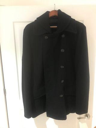 Chaquetón marinero de Zara talla XL