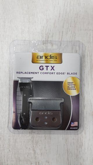 cuchilla de repuesto gtx para andis t-outliner