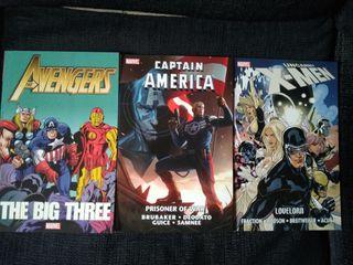 Coleccion 3 comics - novelas gráficas
