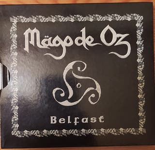 CD+DVD Mago de oz Belfast.