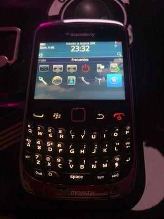 BLACK BERRY 9300 CURVE LIBERADA