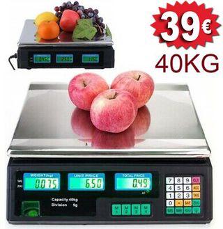 Bascula Balanza 40 kg